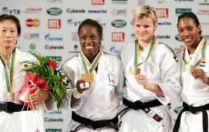 Mondiaux de judo : 3ème journée (F – 63kg et H – 81kg)
