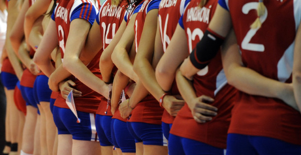 Play off Euro volley Ball 2011