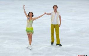 Un tour avec Nathalie Pechalat et Fabian Bourzat