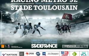 Gagnes tes places pour Racing Metro / Stade Toulousain !