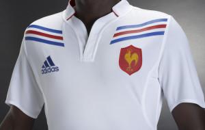Maillot extérieur blanc du XV de France