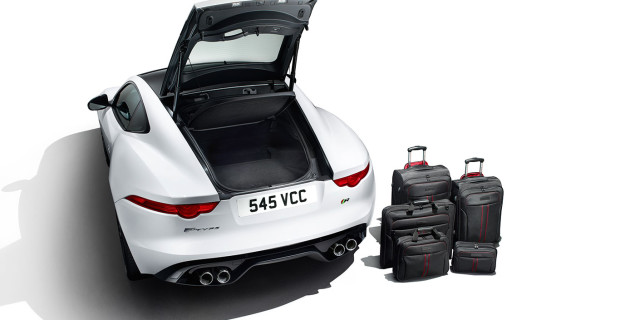 Jaguar F-Type R Polaris White coffre