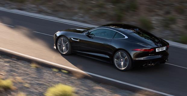 Jaguar F-Type R Stratus Grey