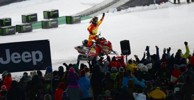 Colten Moore, le roi du snowmobile est de retour !