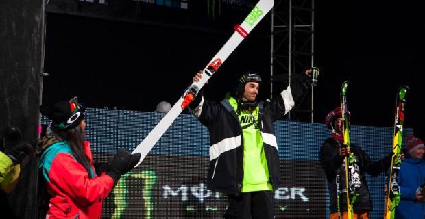 Kevin Rolland sur le podium des X Games 2014