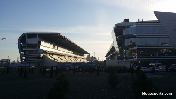 Tribunes Grand Prix F1 Sotchi