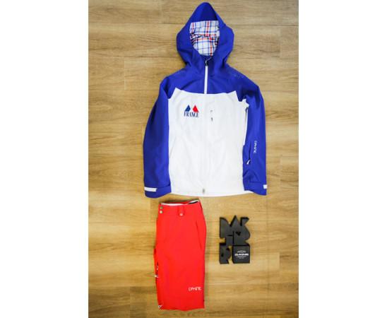 Tenue Dakine pour Anaïs Caradeux Jeux Olympiques d'Hiver Sotchi 2014