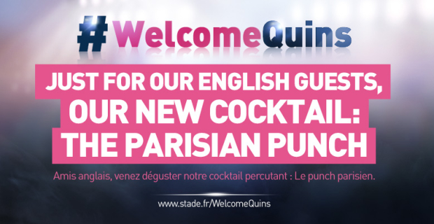 #WelcomeQuins, le Stade Français sait recevoir