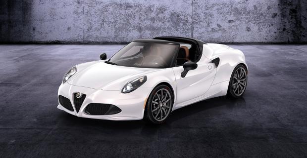 Alfa Romeo 4C Spider [Salon de Genève]