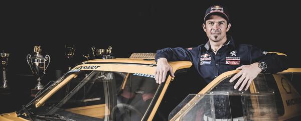 Cyril Despres Peugeot Dakar