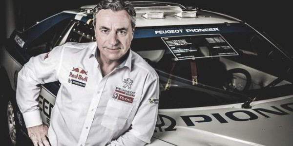 Carlos Sainz Peugeot Dakar