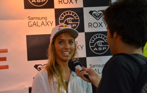 Interview Sally Fitzgibbons – Roxy Pro France 2014