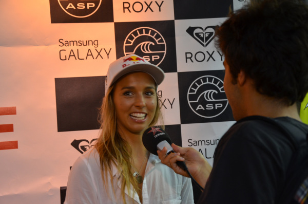 Sally Fitzgibbons - Roxy Pro France 2014