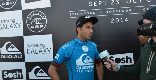 Jérémy Flores - Quik pro France 2014