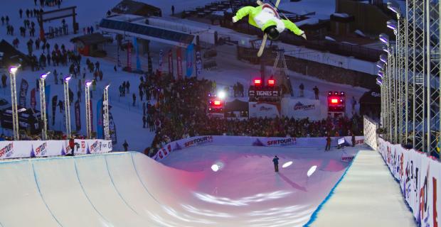 Kevin Rolland Tignes SFR Freestyle Tour 2014