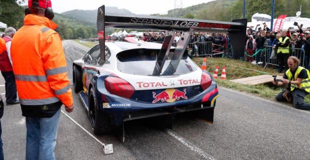 Le show Sébastien Loeb à Turckheim