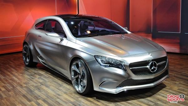 Mercedes nouvelle classe A vue avant